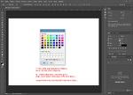 Adobe Photoshop CC 2017에서 색상피커가 윈도우 기본 색상기로 나올 때.... ^^;