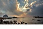 산방산과형제섬