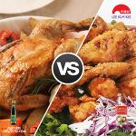 나는 아재 입맛? 애기 입맛? 구운 치킨 vs 후라이드 치킨