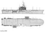 링크) 이오지마급 헬기상륙함/ 링크) 1950~60년대 미해군함정 통신안테나