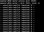 uwsgi -- unavailable modifier requested: 0 --
