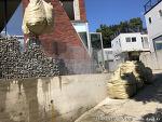 파주 전원주택시공:개비온담장과 평철난간울타리 및 메쉬휀스시공후기