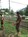 스페인 사람들이 사과주를 마시는 독특한 방법