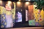 (제주 여행) 빛의 벙커-프랑스 몰입형 미디어 아트 : 클림트