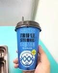 트리플스트롱 에스프레소라떼 - 커피와 에너지드링크 내지는 박카스의 결합