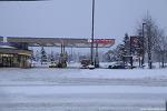 """알래스카"""" 눈 내리는 풍경 """""""