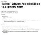 AMD, 도타 2 성능 향상 및 게임 최적화 라데온 소프트웨어 아드레날린 에디션 18.3.1 드라이버 공개