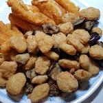 에어프라이어 가지 닭튀김