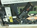 LG 그램 노트북 SSD 250G 추가