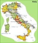 이탈리아 지도 / 이탈리아 여행지도 / 유럽 지도 / 남유럽 지도 자세히 살펴보기