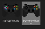 윈도우 10에 듀얼쇼크4 컨트롤러 연결하기(해제하기)