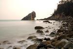 고흥 해변의 오후
