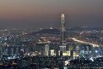 남한산성 서문 전망대 서울 야경