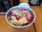 [도쿄]츠키지 시장 할머니 덮밥