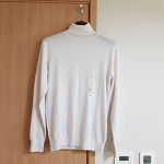 지오다노 울 블렌드 터틀넥 스웨터 12GG(058920
