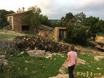 한가위처럼 풍성하게 월동준비 하는 스페인 고산