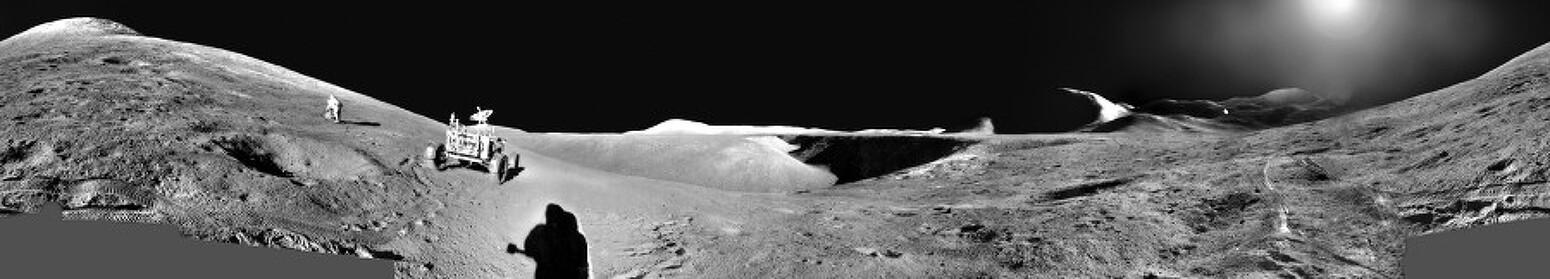 [APOD] 우주인(우주비행사) 탐사: 아폴로 15호 파노라마(2018.11.11.)