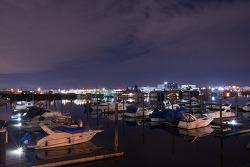 마지막 여덟 번째 밤(2013. 2.17) - 뱅쿠버의 야경