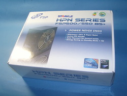 가격대 성능비 만족! FSP500-50HPN 85+