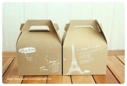 <box007> 에펠탑과커피-원피스형