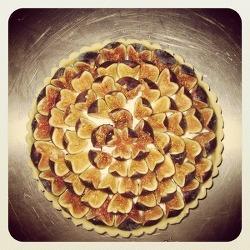 Baking Time - Fig Tart