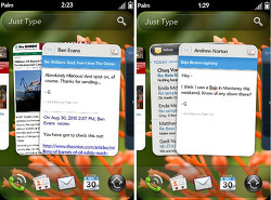 WebOS 2.0 적용된 Palm Pre 2 단말 출시
