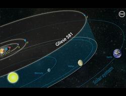 또 하나의 지구 - 글리제 581g (Gliese 581g)