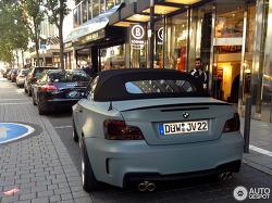 BMW 1M 컨버터블?