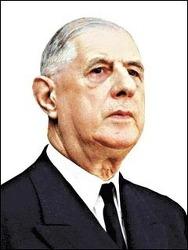 프랑스의 나치 청산을 주도한 샤를 드골 전 프랑스 대통령