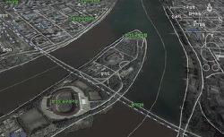 북한 전역을 1m단위로 볼수있는 지도서비스 오픈플랫폼!