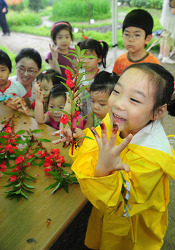 (37) 봉숭아꽃 물들이기