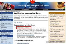 캐나다 비자신청서(연장,학생,워킹 등) 처리 기간을 확인해보자. Application Processing Times!