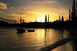 뉴칼레도니아 일데팡 여행 : 우레호텔 앞에 펼쳐진 카누메라 해변