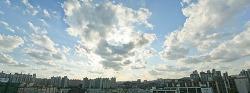 # 11월 첫 날의 푸른 하늘 (2008. 11. 01)