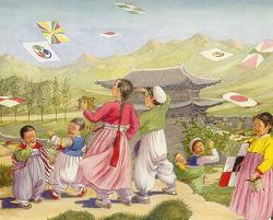 20C 초, 영국의 여류 화가가 묘사한 한국인 모습