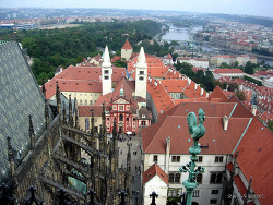 프라하 -세상에서 가장 아름다운 스테인드 글라스 비투스(Vitus) 성당