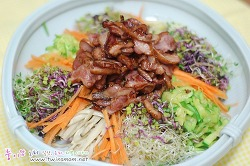 최인호의 매일건강식품 훈제오리 - 오리훈제 새싹비빔밥 너무 깔끔한 맛이에요???