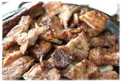 쵝오의 돼지고기