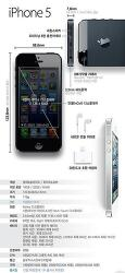 iPhone 5 출시! !! 한장으로 정리하는 아이폰