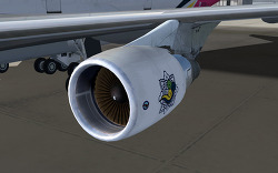 B747-400 P&W Engines (PMDG)