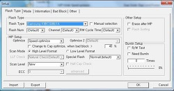 트랜샌드 8GB JETFLASH 500 / 530  USB CD롬 부팅 작업