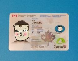 영주권 카드(PR카드-Permanent Resident Card) 받았어요!