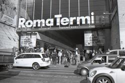 film: Rome in B&W