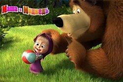 [동영상]러시아판 뽀로로 '마샤와 곰'이 성공한 이유