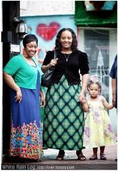 4개국 여인들의 아름다운 길거리 패션