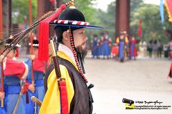 왕궁수문장 교대의식 공연