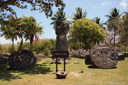 [북마리아나 > 티니안] 고대 거석 문화를 느낄 수 있는 '타가 하우스(House of Tagga)'