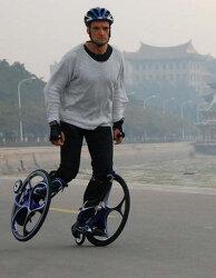 인라인과 자전거 바퀴의 결합! 바퀴 스케이트.