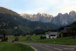 빙하가 녹은 물이 흐르는 오스트리아...(동영상)