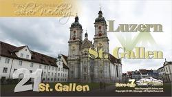 St. Gallen, Switzerland 스위스 장크트 갈렌